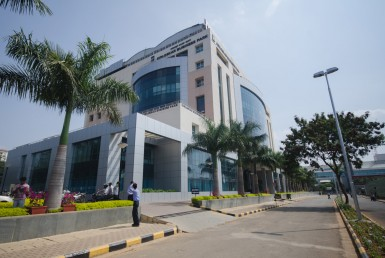 Kirloskar Business Park Hebbal Bangalore external view
