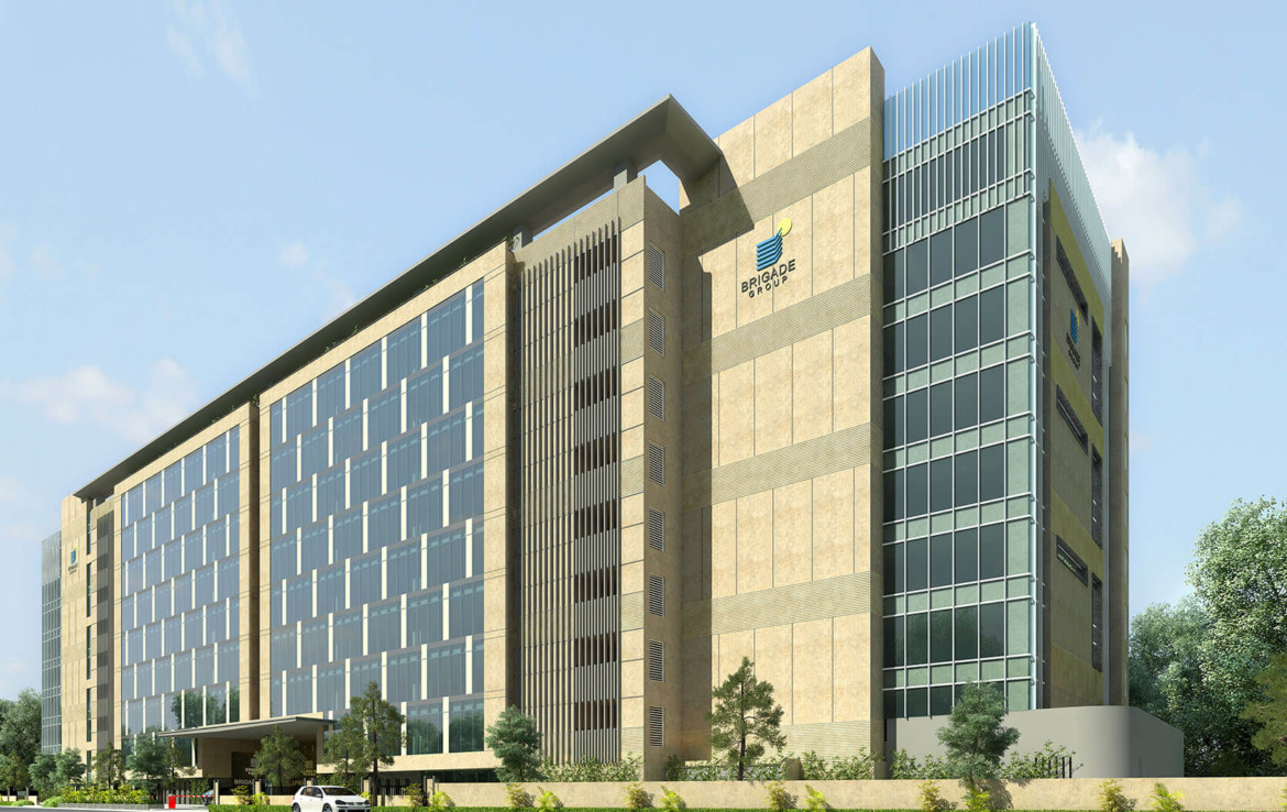 Brigade Opus Commercial Office Space - Hebbal North Bangalore